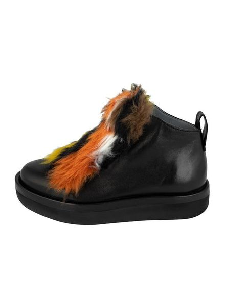 Andia Fora Shearling Sneakers Black