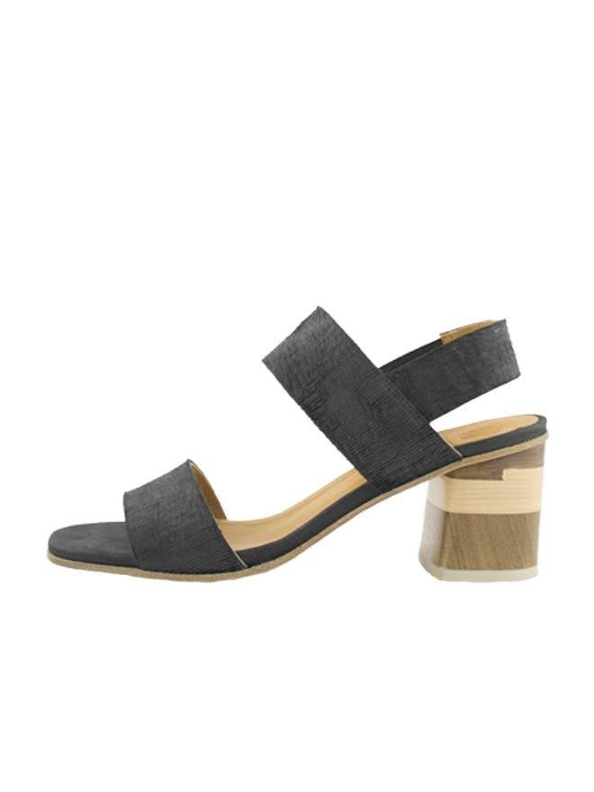 9698467d8 Coclico - Bask Quarter Strap Sandal Ombra Black - Women s Clothing ...