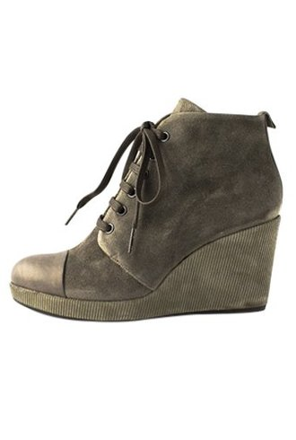 Coclico Henri Lace Up Wedge Bootie