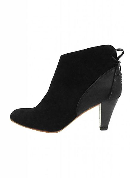 Ulla Johnson Inez Suede Boot Raven
