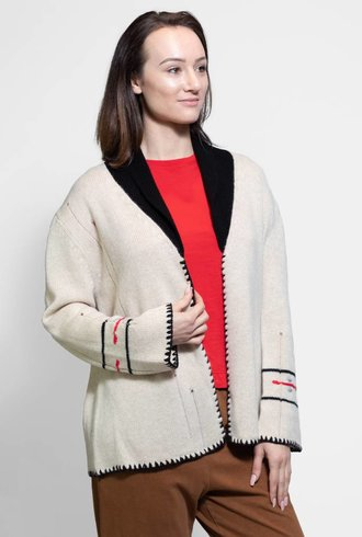 Raquel Allegra Cardigan Cream
