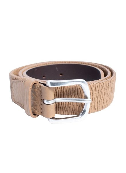 Orciani Soft Light Buckle Belt Cappuccino
