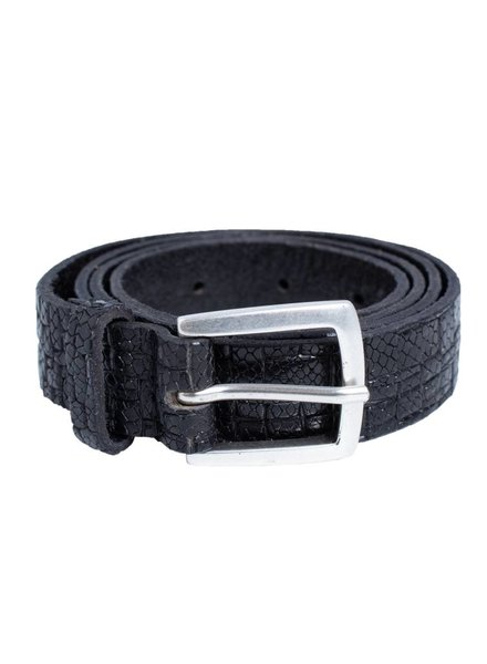 Orciani Straw Belt Nero