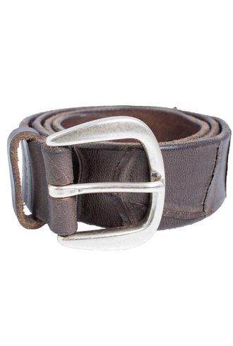 Orciani Heavy Cut Belt Fango