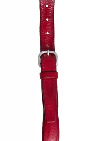 Orciani Skinny Masculine Belt Rosso