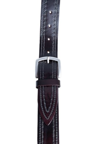 Orciani Mash Drop Belt Bordeaux