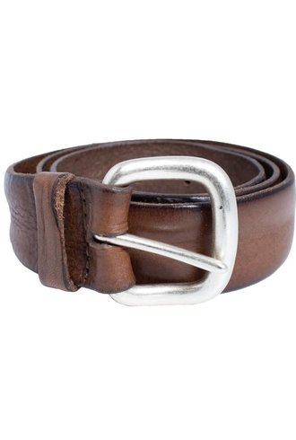 Orciani Masculine Belt Taupe