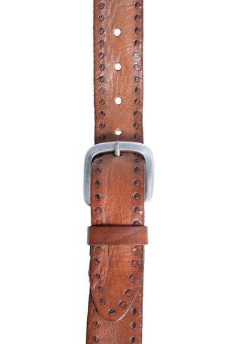 Orciani Masculine Belt Fango