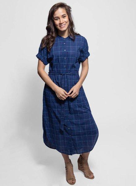 Xirena Alexa Dress Riviera Blue