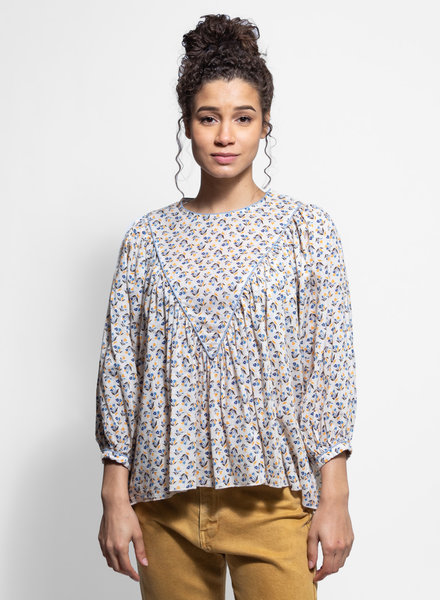 The Great The Triangle Top Cream Floral