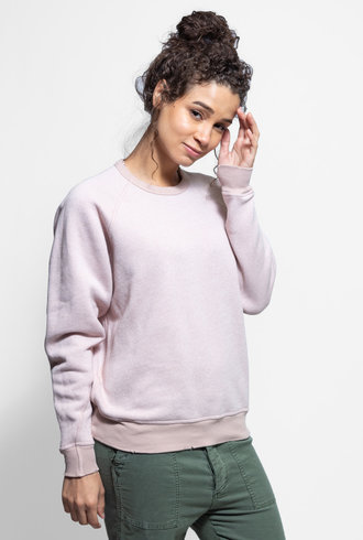 The Great The College Sweatshirt Blush