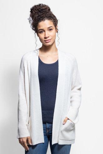 360 Sweater Haley Cardigan Chalk