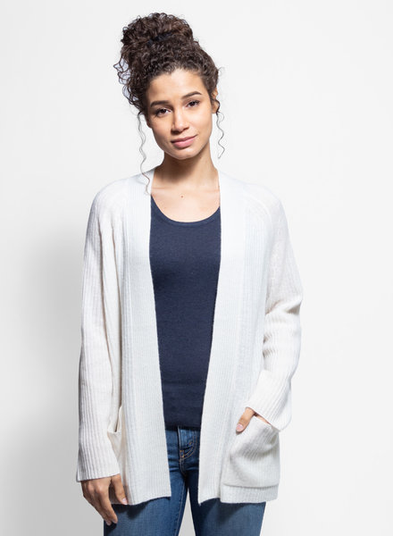 360 Sweater Haley Cardigan Chalk