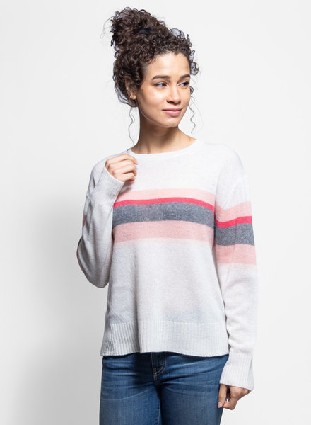 360 Sweater Christina Pullover Chalk Multi