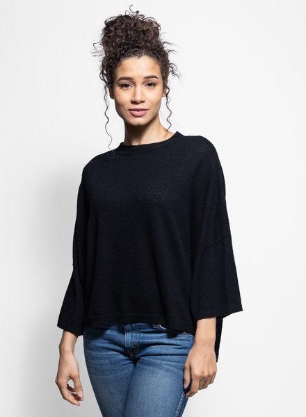 Inhabit Mixed Pullover Black