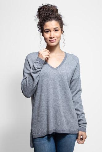 Kokun Mini Stripe Tunic Cloud Grey