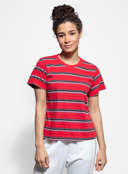 Xirena Jess T-Shirt Red Tape