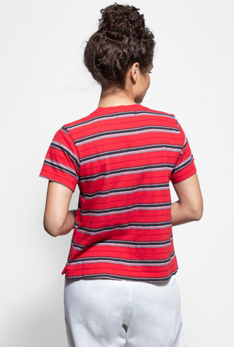 Xirena Jess T-Shirt Red Tape