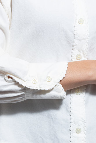 The Great School House Button Up White