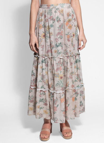 Local Exuma Skirt Botanica Beige
