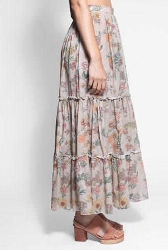 Local Exuma Skirt Botanica Beige