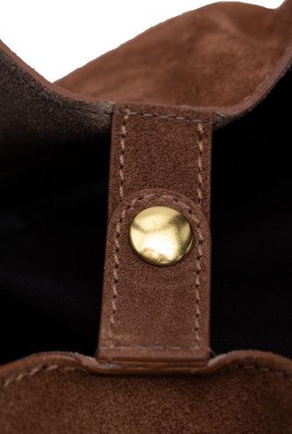 Jerome Dreyfuss Georges Bag L Caviar Tobacco