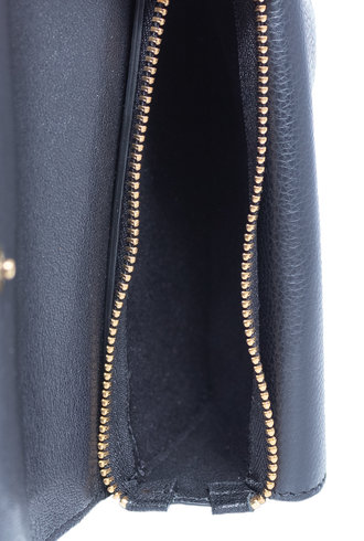 Jerome Dreyfuss Obi Clutch Noir Brass
