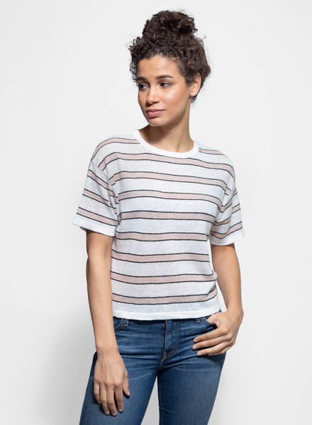 360 Sweater Hannah Tee Chalk Multi