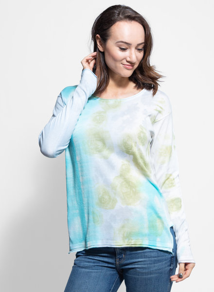 MA+CH Easy Pullover Flora Moss