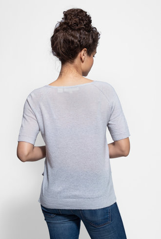 Inhabit Cashmere Tee Willow