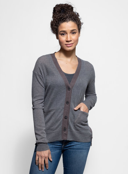 Inhabit Mixed Cardi Lotus