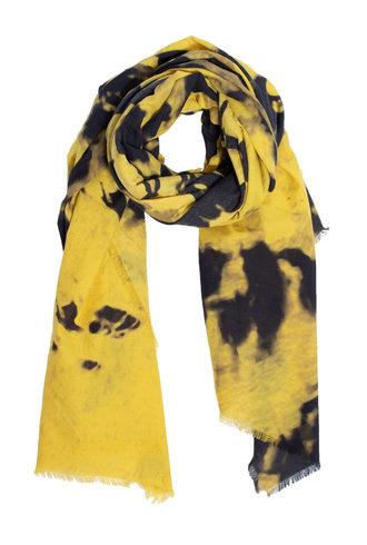 Destin Psyco Quadra Scarf Yellow