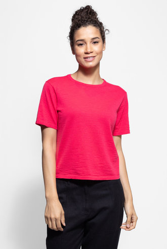 360 Sweater Lexa Tee Flamingo