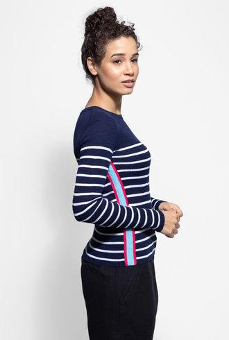 360 Sweater Charlie Long Sleeve Tee Admiral