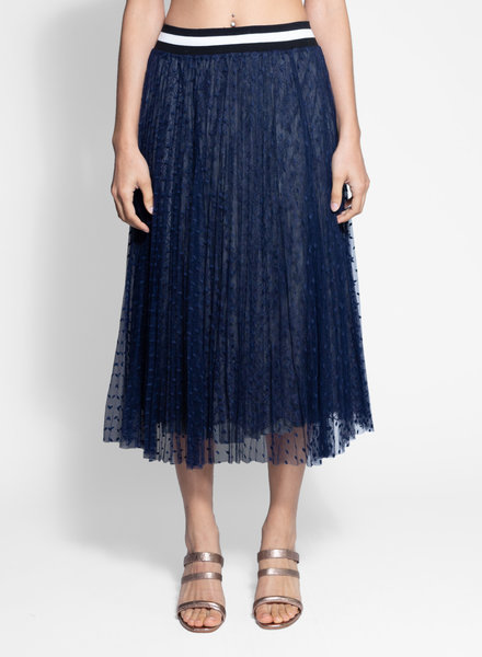 Loyd/Ford Lace Sport Skirt Navy