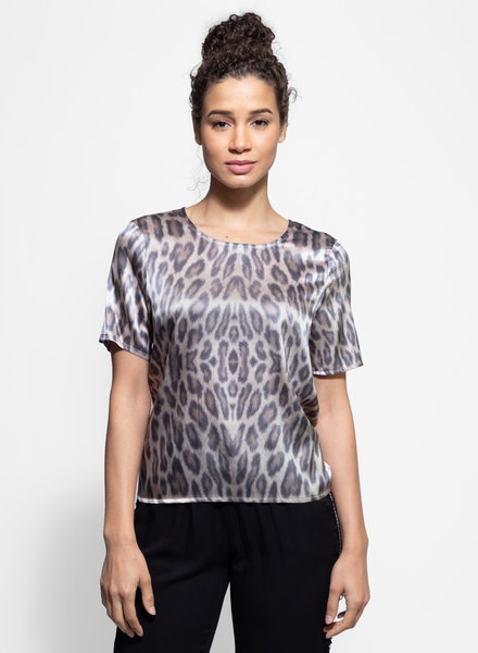 Loyd/Ford Short Sleeve Silk Tee Cheetah
