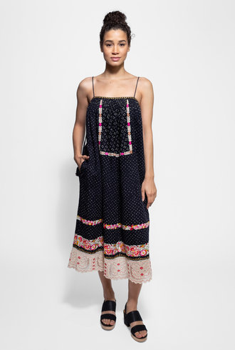 Ulla Johnson Nara Dress Indigo