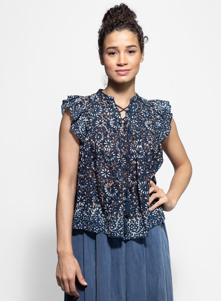 Ulla Johnson Opal Top Azul
