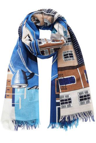 Inouitoosh 2CV Scarf Blue / Bleu