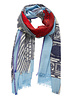 Inouitoosh Flying Fish Scarf Light Blue / Bleu  Ciel