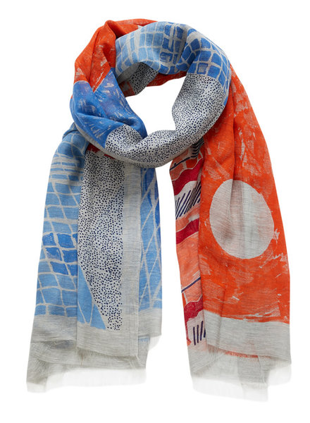 Inouitoosh Pool Scarf Orange