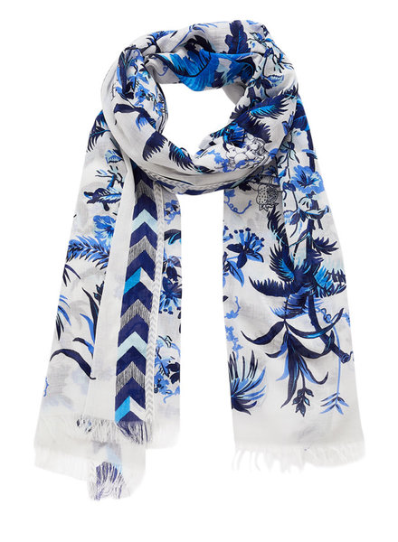 Inouitoosh Quartier Latin Scarf Blue / Bleu