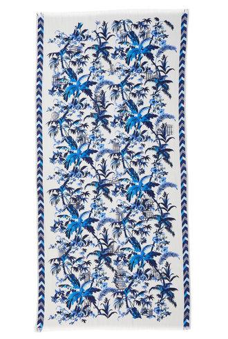 Inouitoosh Quartier Latin Scarf Blue / Bleu