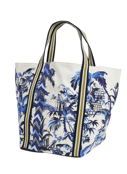 Inouitoosh Quartier Latin Summer Bag Blue / Bleu