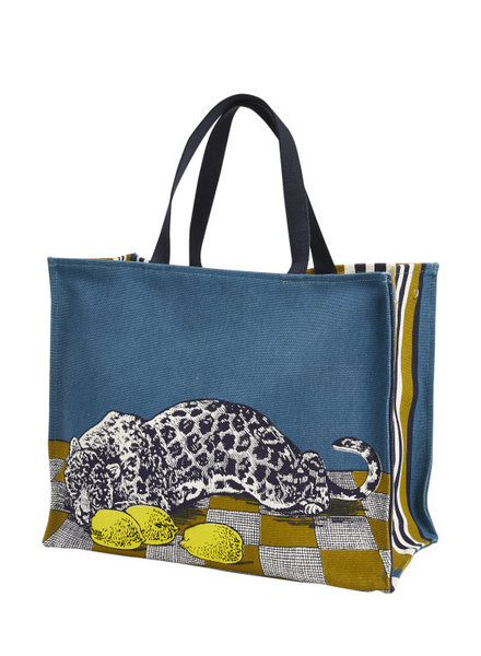 Inouitoosh Lemon Shopping Bag Yellow / Jaune