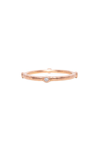 Rebecca Lankford Rose Gold Diamond Ring