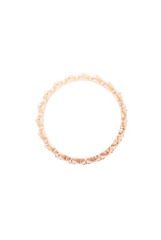 KISMET White Diamond Crown Ring