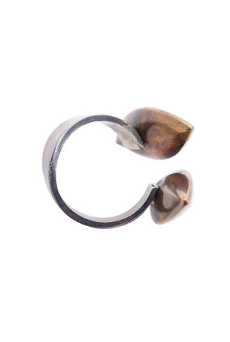 Beth Orduna Design Brass Bead Ring