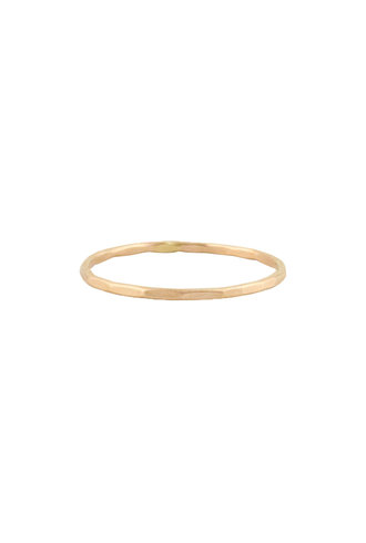 Sarah McGuire Rose Gold Featherweight Band