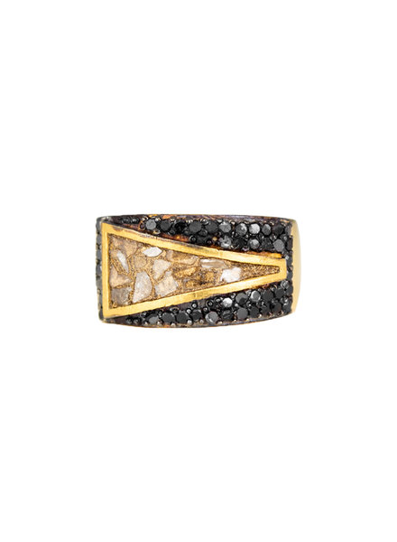 Shana Gulati Bokaro Ring Gold